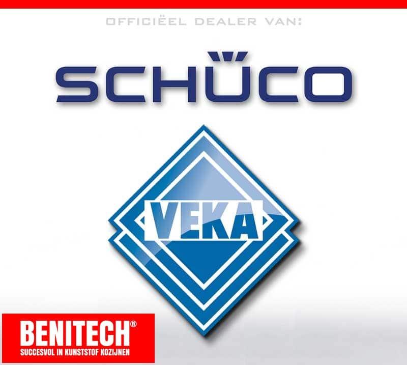 Officieel dealer van Veka en Schüco