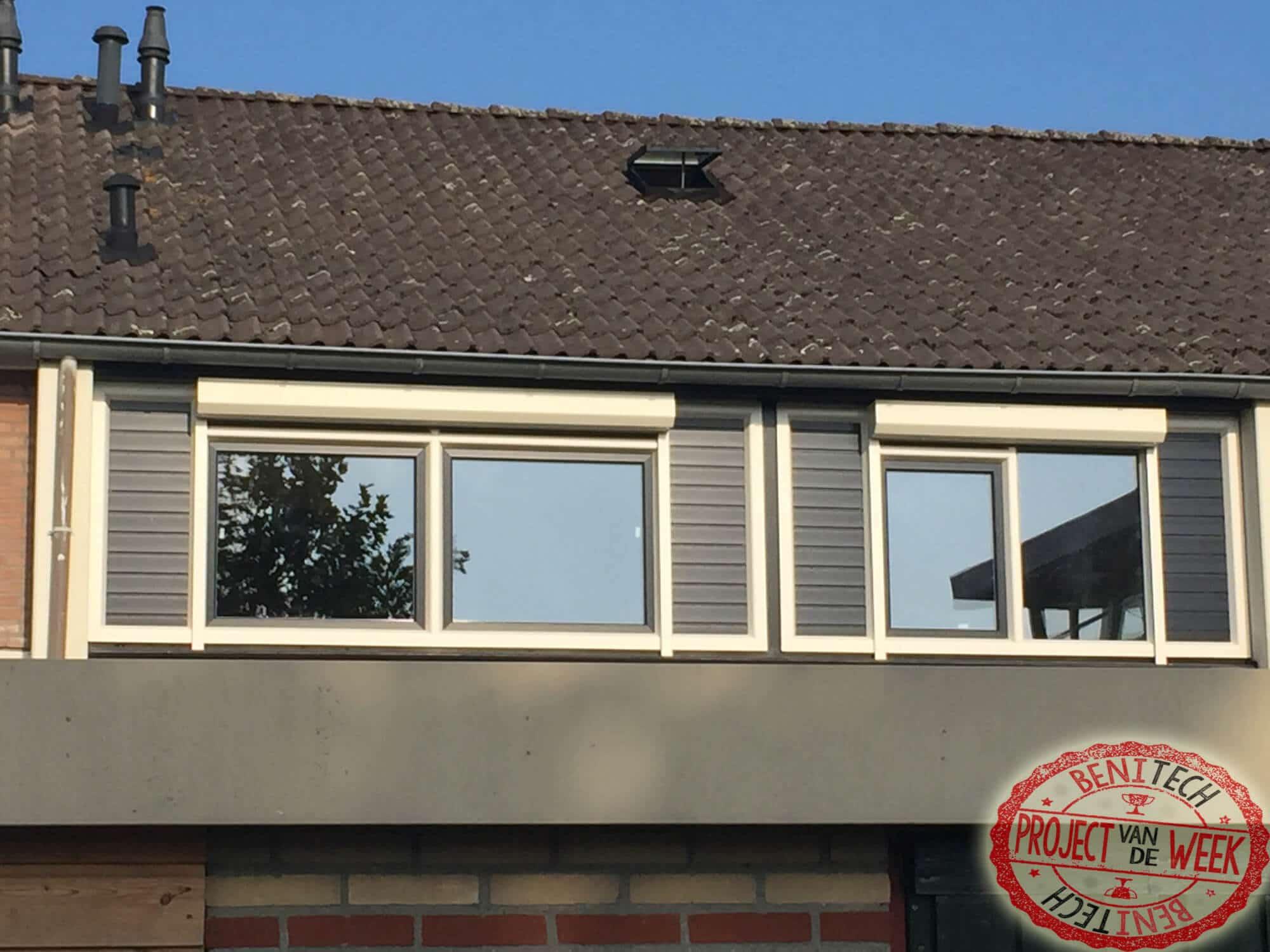 Een renovatie van de achterzijde van onze klant uit Rotterdam is deze week het project van de week!
