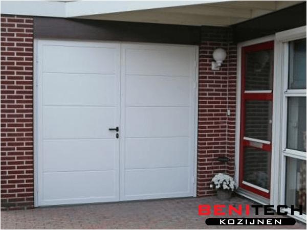 kunststof garage deuren benitech kozijnen. Black Bedroom Furniture Sets. Home Design Ideas