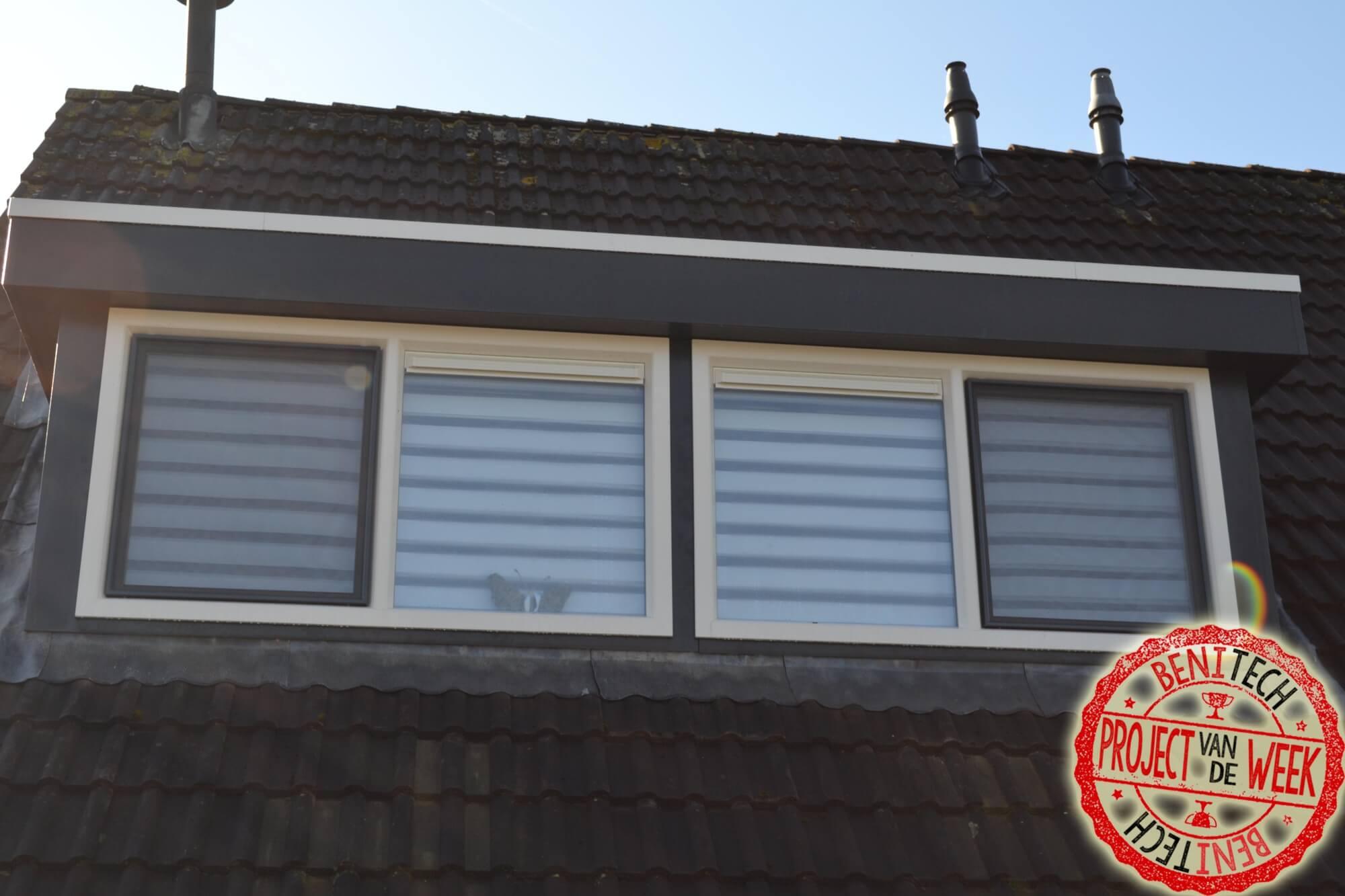 Deze week hebben we een splinternieuwe kunststof dakkapel geplaatst bij klanten in Lelystad